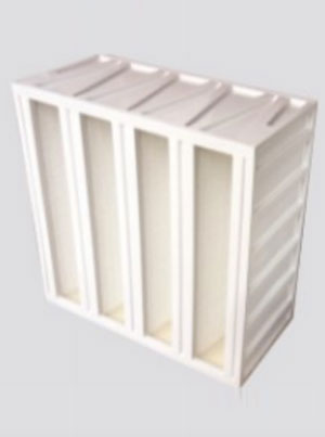 Mini Pleated Plastic V Bank Fine Filters
